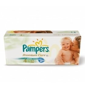 Подгузники Pampers Premium Maxi VP 52шт/уп