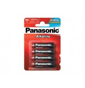 Батарейки Panasonic LR06 Alkaline Power 4шт/уп