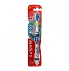 Зубная щетка Colgate 360 clean medium 1шт