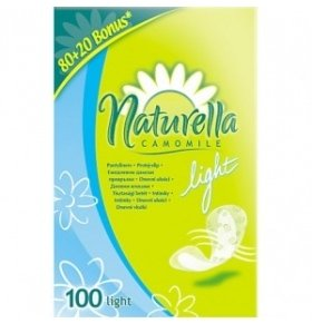 Прокладки Naturella Camomile Light Deo 100шт/уп