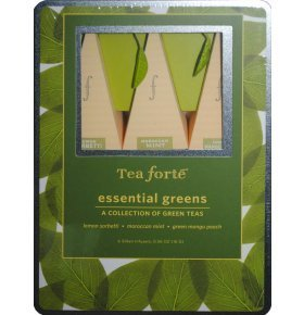 Набор чая Tea forte Essential Greens зеленый 6*2,667г/у