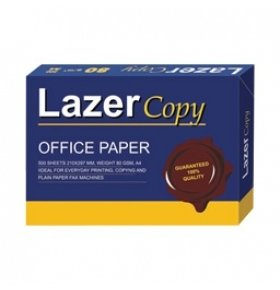 Бумага Lazer Copy А4 80г/м2 1уп