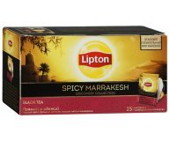 Чай черный Lipton Spicy Marrakesh 25*2 г/уп