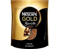 Кофе растворимый Nescafe Gold с добавлением молотого 500 г