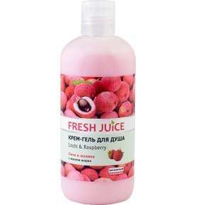 Крем-гель для душа Fresh Juice Litchi&Raspberry 750мл