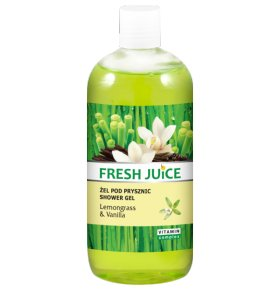 Крем-гель для душа Fresh Juice Lemongrass&Vanilla 750мл