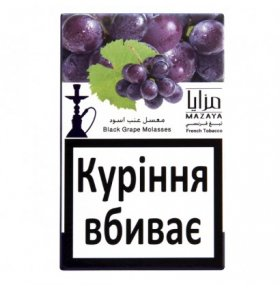 Табак Mazaya Black Grape Molasses 50г