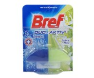 Блок для унитаза Bref Duo Active Лайм/мята зап 2*50мл/уп