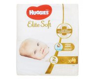 Подгузники Elite Soft Mega 2 4-6 кг Huggies 82 шт