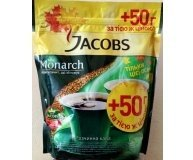 Кофе раст JacobsMonarch экон.пак 50г в подар Акция 400г