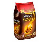 Кофе растворимый Nescafe Gold сублимированный 900 гр