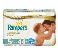 Подгузники Pampers Premium Maxi+ VP 44шт/уп
