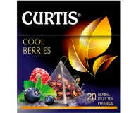 Чай черный Curtis Cool Berries 20 шт х 1,7 гр