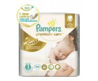 Подгузники Pampers Premium Care Newborn 2-5кг 88шт/уп