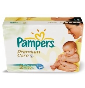 Подгузники Pampers Mini VP 72шт/уп