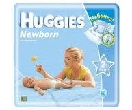 Подгузники Huggies Newborn Mega 3-6 кг 88шт/уп