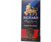 Чай черный Richard English Breakfast 25*2г/уп