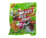 Конфеты Roshen Crazy Bee Gummi Bear Mix желейные 100 г
